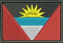 Antigua Barbuda Flag embroidery design