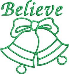 Believe Bells embroidery design