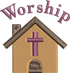 Church Worship embroidery design