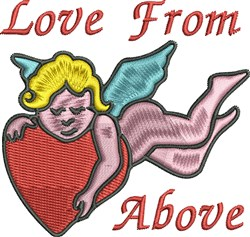 Love From Above embroidery design