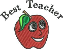 Best Teacher embroidery design