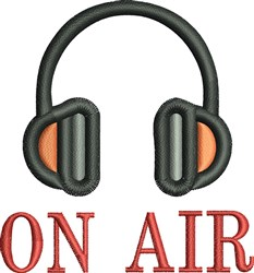On Air embroidery design