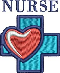 Nurse Cross embroidery design