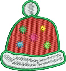 Holiday Hat embroidery design
