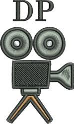 DP Movie Camera embroidery design