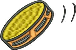 Tambourine embroidery design