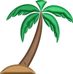 Palm Tree embroidery design