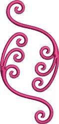 Scroll Embellishment embroidery design