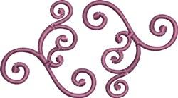 Swirl Scrolls embroidery design