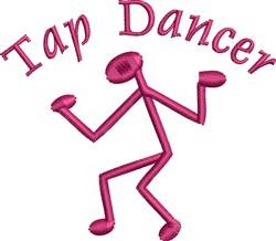 Tap Dancer embroidery design