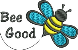 Bumble Bee embroidery design