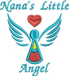Nanas Angel embroidery design