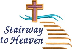 Stairway To Heaven embroidery design