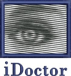 iDoctor embroidery design
