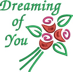 Dreaming Of You embroidery design