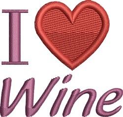 Love Wine Design embroidery design