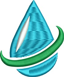 Water Conservation embroidery design