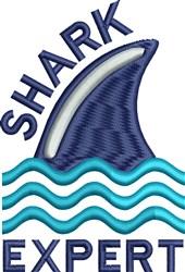 Shark Expert embroidery design