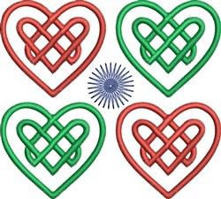 Celtic Heart embroidery design
