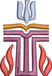 Spiritual Logo embroidery design