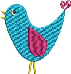 Country Bird Watcher embroidery design