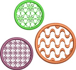 Circular Decorative Design embroidery design