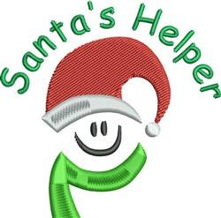 Happy Christmas Elf embroidery design