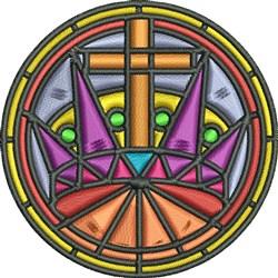 Religious Symbol embroidery design