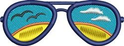 Summer Sunglasses embroidery design
