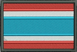 Thailand Flag embroidery design