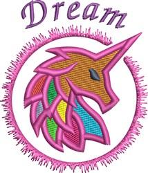 Dream Unicorn embroidery design