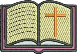 Bible embroidery design
