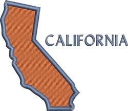 California embroidery design