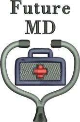 Future MD embroidery design