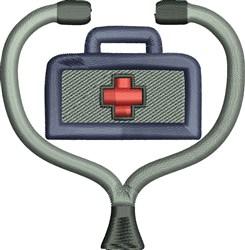 Medical Bag embroidery design