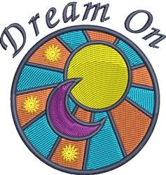 Dream On embroidery design