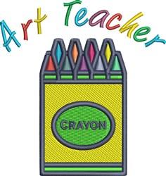 Art Teacher embroidery design