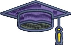 Graduation Cap embroidery design