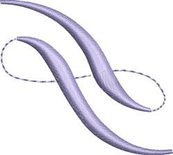 Elegant Lavender Accent embroidery design