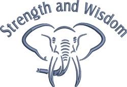 Strength And Wisdom embroidery design
