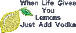 When Life Gives You Lemons embroidery design