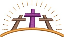 Good Friday Crosses embroidery design