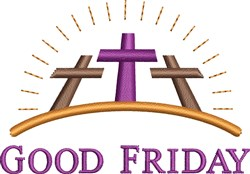 Good Friday embroidery design