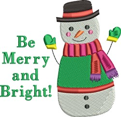Be Merry & Bright! embroidery design