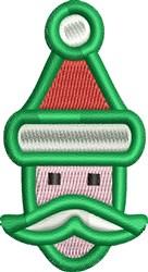 Little Santa embroidery design