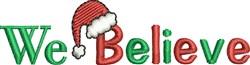 Santa Hat Sayings embroidery design