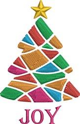 Christmas Tree Sayings embroidery design