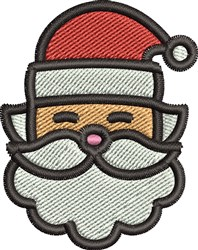 Cute Santa embroidery design