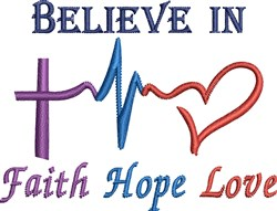 Faith Sayings embroidery design