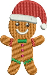 Ginger Bread Man embroidery design